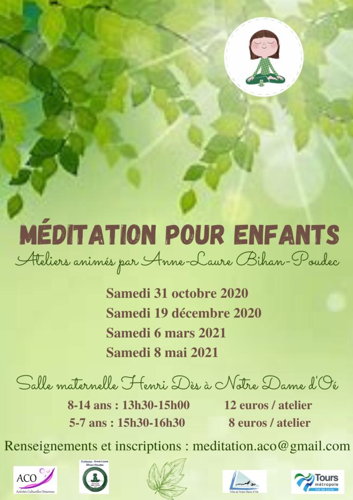 Ateliers méditation enfants